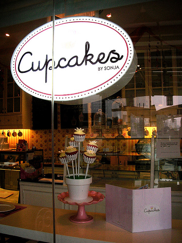 Cupcakes by Sonja at the Serendra Piazza