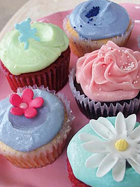 Assorted Cupcakes by Sonja
