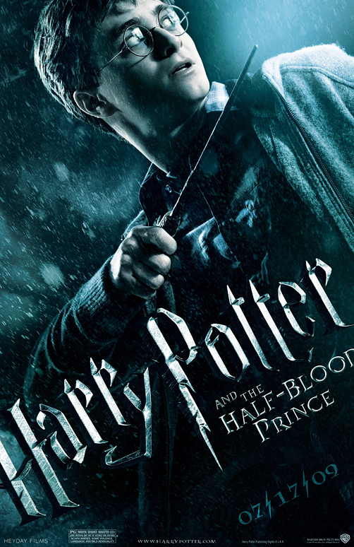 The new Harry Potter movie poster