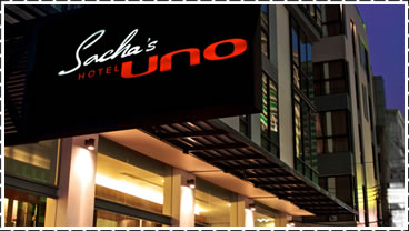 Sacha's Hotel Uno (near to both the skytrain and subway)