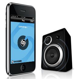 Shazam iPhone Application