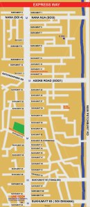 Sukhumvit Map (Soi 1 to 63)