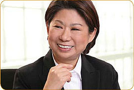 #40 on the list: Teresita Sy-Coson of SM Investments, Philippines