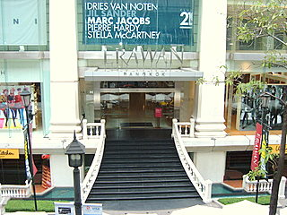 Erawan Center is high end but compromises with a good food court downstairs.