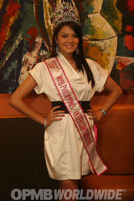 Miss Philippines-Intercontinental 2009 Jacqueline Schubert