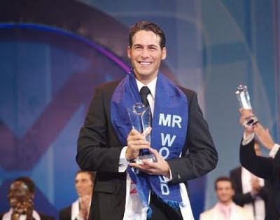 Juan Garcia Postigo of Spain was the last Mr. World winner proclaimed in 2007 when the contest was held in Sanya, China