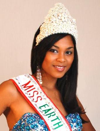 Miss Earth Canada 2009 LATEESHA ECTOR
