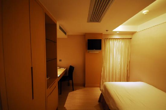 A single room at Hotel Benito