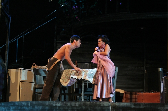 "A scene from ""A Streetcar Named Desire"" (Reuben Uy and Ana Abad Santos)"