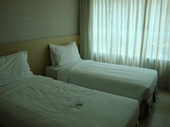Twin-sharing room at Hotel Benito
