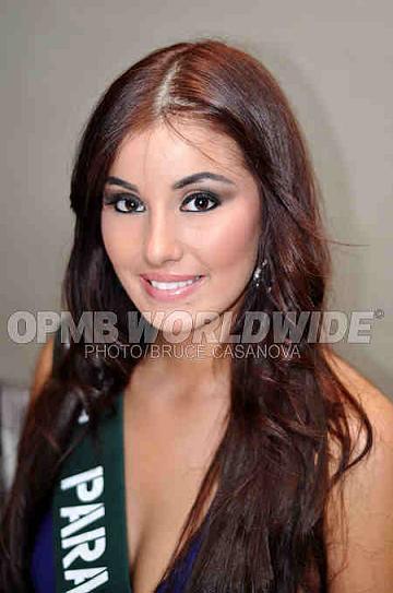 Miss Earth Paraguay Gabriela Rejala
