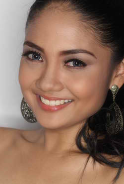 Miss Mun. of Casiguran, Athena Mae Imperial before she won Miss Philippines Earth 2011