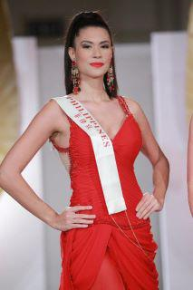 Gwen during the Miss World 2011 Top Model semifinals