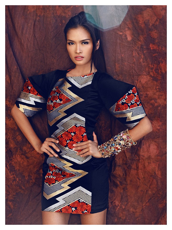 Miss Philippines Janine Tugonon as photographed by Raymond Saldana.