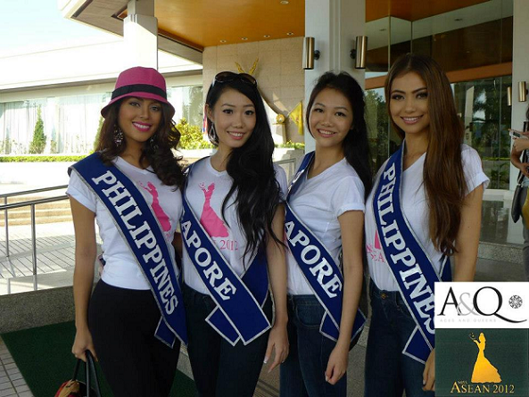 Two Miss Philippines. Two Miss SIngapores. Who's the prettiest?