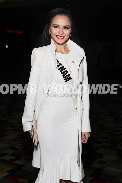 Miss Universe Vietnam 2012 Luu Thi Diem Huong (Photo credit: Jory Rivera/OPMB Worldwide)