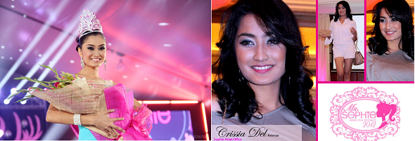 Hailing from the beaches of Puerto Galera, will Crissia del Atienza be Oriental Mindoro's Bb. Pilipinas entry?