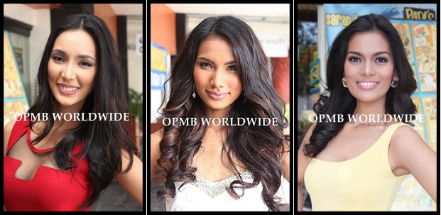 A little more up close this time (L-R) Bea, Parul and Charmaine. (Photo credit: OPMB Worldwide)