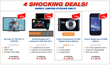 Lazada's Shocking Deals are always worth checking out!