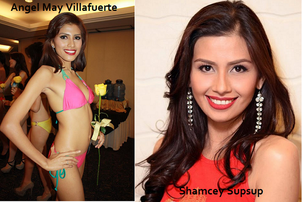 Will looking (and moving) like Shamcey Supsup work wonders for Angel May Villafuerte?