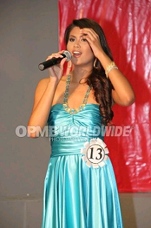 Last year, Katrina Dimaranan sang her way to the hearts of the judges. (Photo credit: Melvin Sia/OPMB Worldwide)
