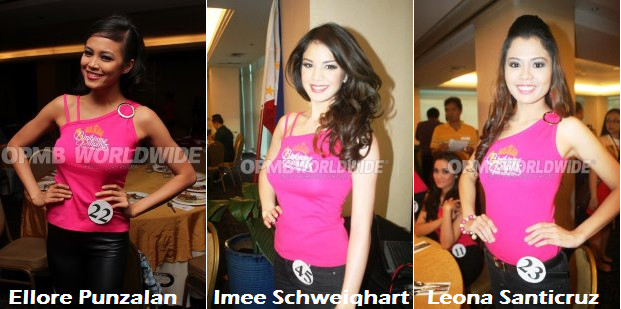 Ellore, Imee and Leona: underdogs or just waiting for their time to shine? (Photo credit: OPMB Worldwide)