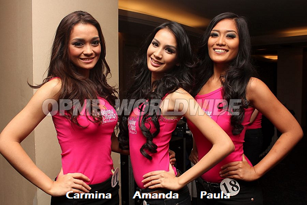 Carmina, Amanda and Paula: will their patience be rewarded in due time? (Photo credit: OPMB Worldwide)