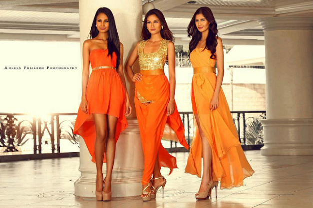 Venus, Janine and Shamcey...will Ara join them for a 2014 quartet?