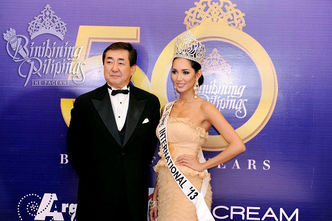 Was Bea Rose Santiago personally handpicked by Bb. Pilipinas 2013 Judge Hirofumi Hashimoto (Miss Beauty Congress President/ International Cultural Association Chairman) for Miss International 2013?