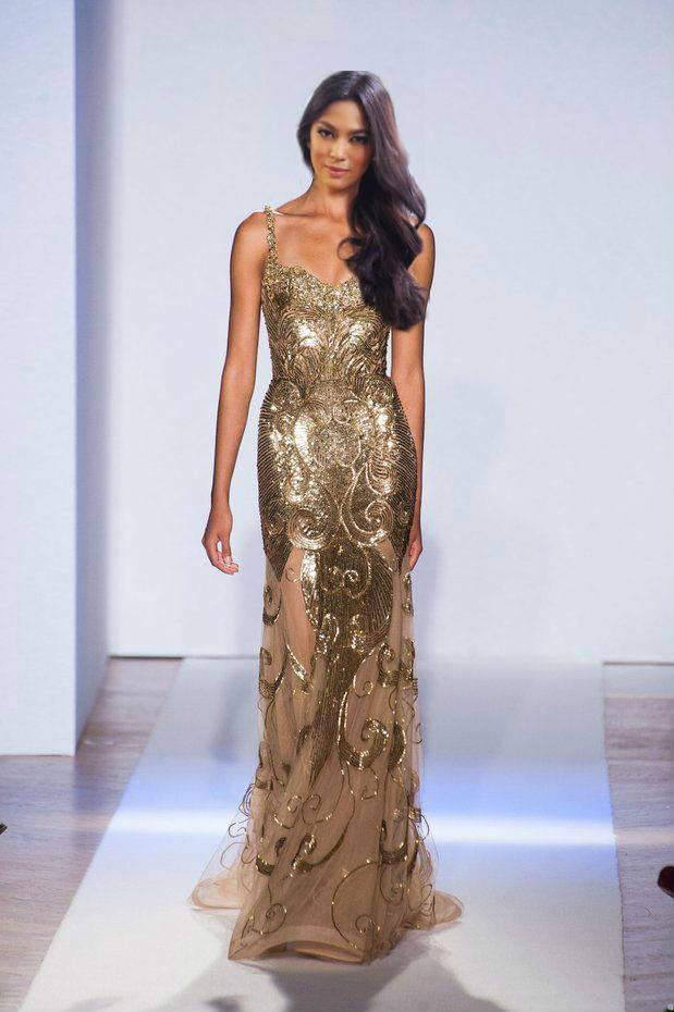 A wishful rendition of Ara Arida in Gold. (Photo credit: Philippines Pageants on FB)