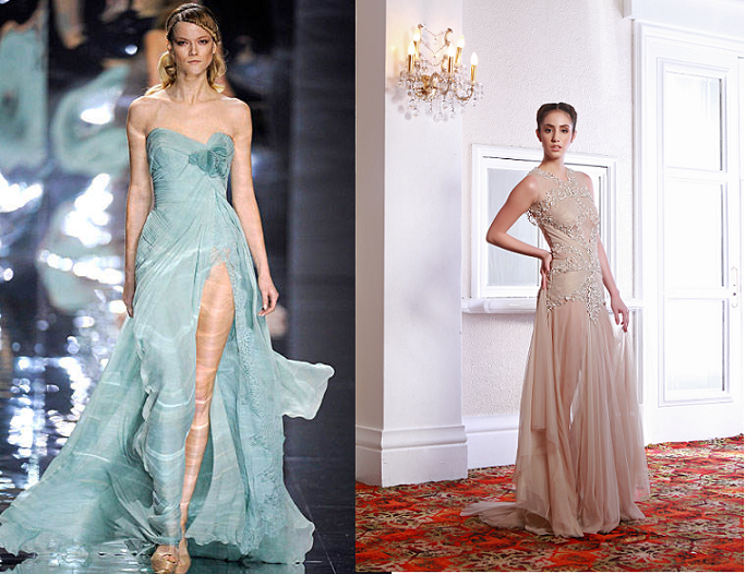 Would you approve of gowns like these for Ara Arida? | normannorman.com