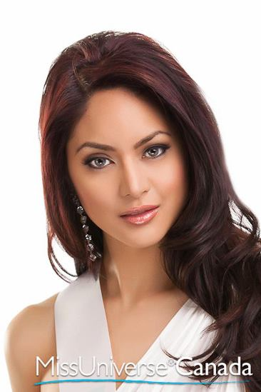 Fil-Canadian Riza Santos is gearing up for a 3rd national beauty title.