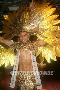 Mr. Surigao del Norte was also ok with his (Photo credit: OPMB Worldwide/Noli Berioso)