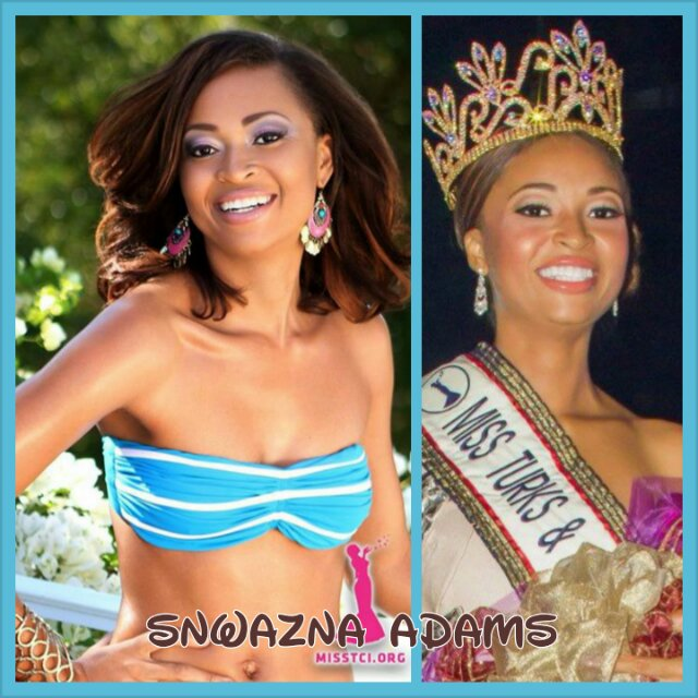 Miss Turks and Caicos Universe 2013 has a Filipina mother.