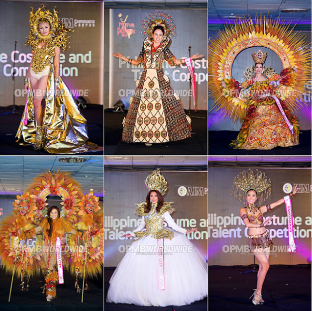 Some of the National Costumes I particularly liked. (Photo credit: OPMB Worldwide/Bruce Casanova)