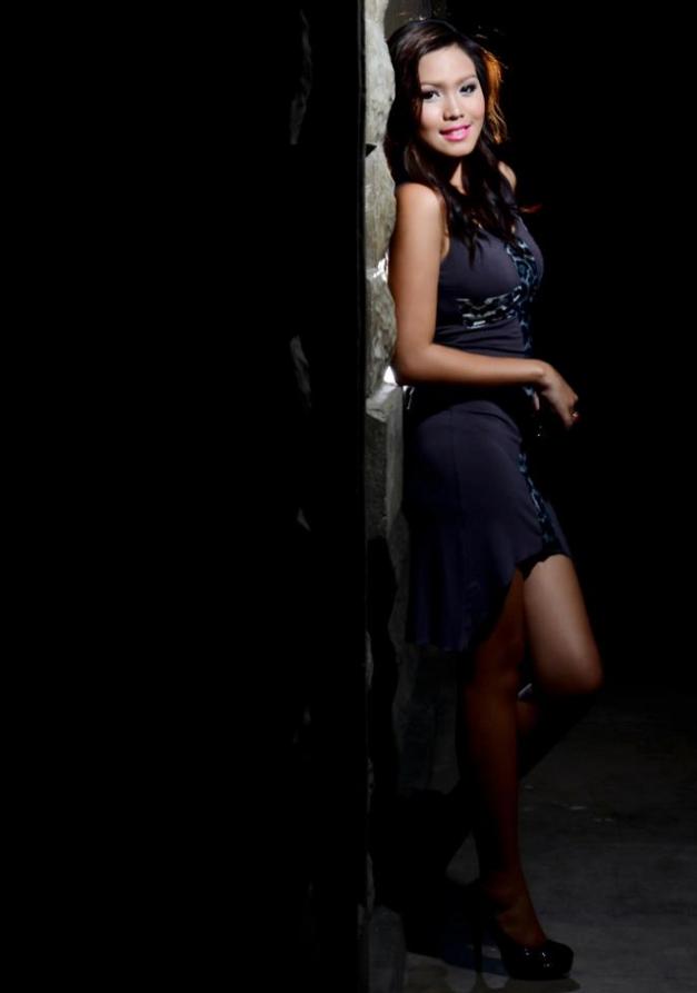 Dumaguete's pride in Miss World Philippines 2013 is Frances Claire Vintola.
