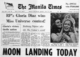Gloria Diaz and her reaction