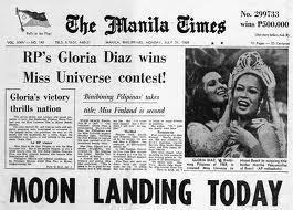 Gloria Diaz and her reaction