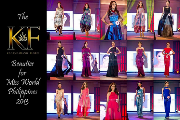 Numbers-wise, Kagandahang Flores is dominating Miss World Philippines 2013.