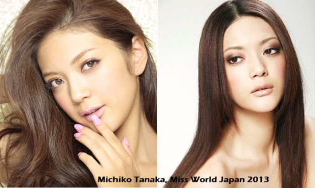 What a sensuous-looking lady Michiko Tanaka is.