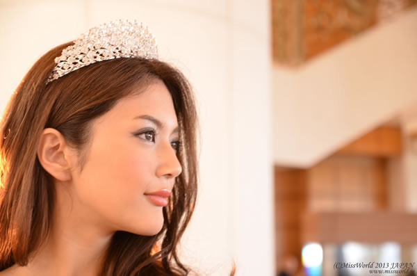 Michiko is more Miss Universe-molded, but Miss World will benefit from her participation.