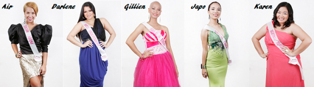 They're not your typical beauty queen-wannabes, but each one of them has an inspiring story to tell.