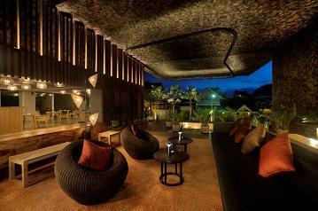 A tastefully-designed lobby beckons