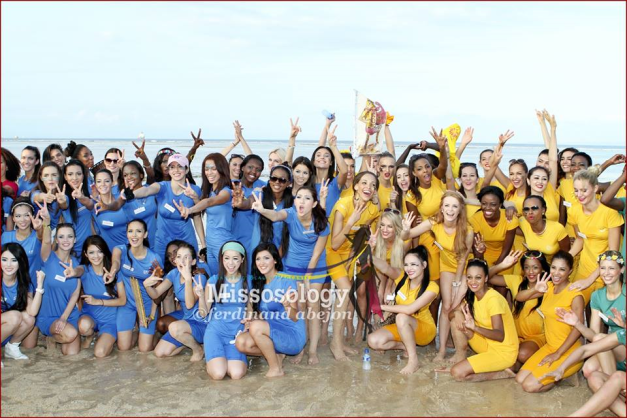 The Miss World 2013 Sports Challenge brought the ladies closer. (Photo credit: Missosology/Ferdinand Abejon)