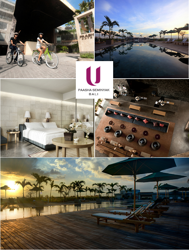 Right in the heart of Bali, U Paasha Seminyak Resort Hotel welcomes all guests with warmth and hospitality.