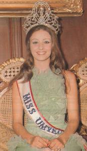 1974 Miss Universe Amparo Munoz