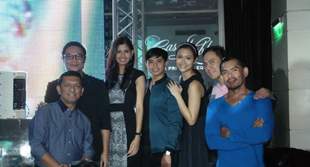 Aces & Queens alright (L-R); Gerry Diaz, Jonas Gaffud, Shamcey Supsup, Mark Besana, Teresa Licaros, Arnold Mercado and John Cuay