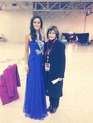 Ariella Arida with her supervisor Tammy.