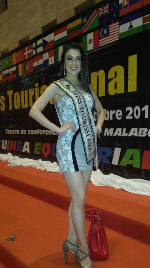 Aiyana was named Miss Tourism Asia in Miss Tourism World 2013. (Photo credit: airwindzone.wordpress.com)