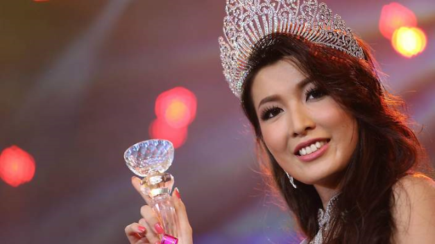Moe Set Wine: the first Myanmar contestant in Miss Universe since 1961.